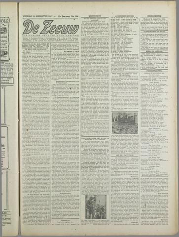 De Zeeuw. Christelijk-historisch nieuwsblad voor Zeeland 1943-08-13