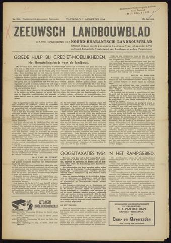 Zeeuwsch landbouwblad ... ZLM land- en tuinbouwblad 1954-08-07