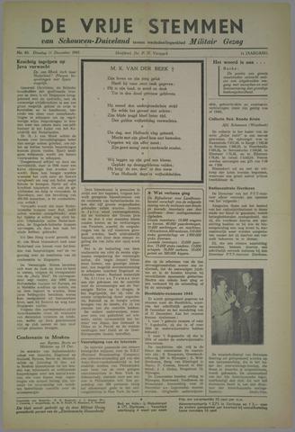 Vrije Stemmen van Schouwen-Duiveland, tevens mededeelingenblad Militair Gezag 1945-12-11