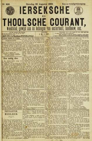 Ierseksche en Thoolsche Courant 1903-08-29