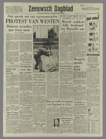 Zeeuwsch Dagblad 1961-08-18