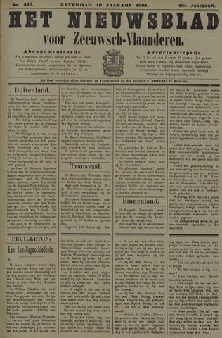 Nieuwsblad voor Zeeuwsch-Vlaanderen 1901-01-19