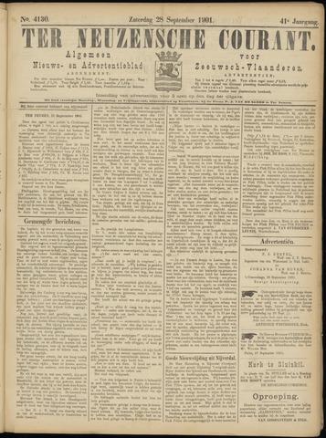 Ter Neuzensche Courant. Algemeen Nieuws- en Advertentieblad voor Zeeuwsch-Vlaanderen / Neuzensche Courant ... (idem) / (Algemeen) nieuws en advertentieblad voor Zeeuwsch-Vlaanderen 1901-09-28