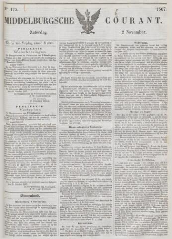 Middelburgsche Courant 1867-11-02