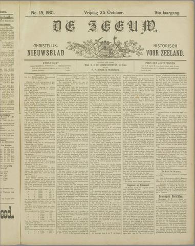 De Zeeuw. Christelijk-historisch nieuwsblad voor Zeeland 1901-10-25