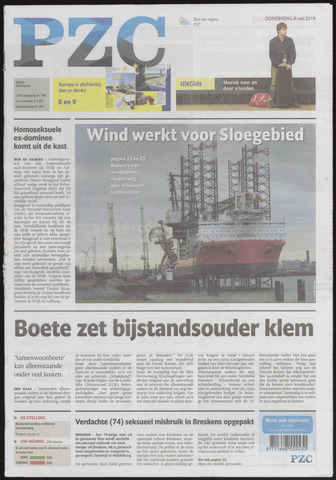 Provinciale Zeeuwse Courant 2014-05-08