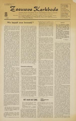 Zeeuwsche kerkbode, weekblad gewijd aan de belangen der gereformeerde kerken/ Zeeuwsch kerkblad 1964-01-10