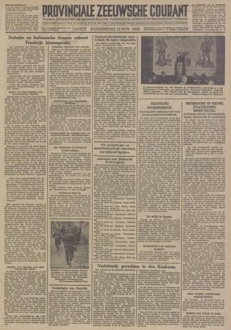 Provinciale Zeeuwse Courant 1942-11-12