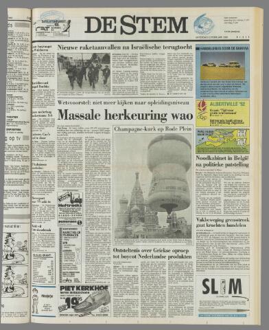 de Stem 1992-02-22
