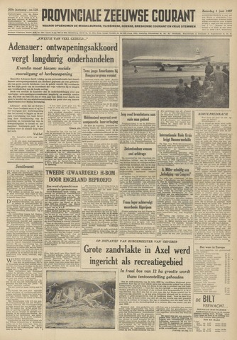 Provinciale Zeeuwse Courant 1957-06-01