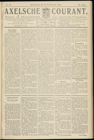 Axelsche Courant 1928-11-20