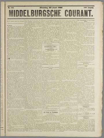 Middelburgsche Courant 1925-06-23