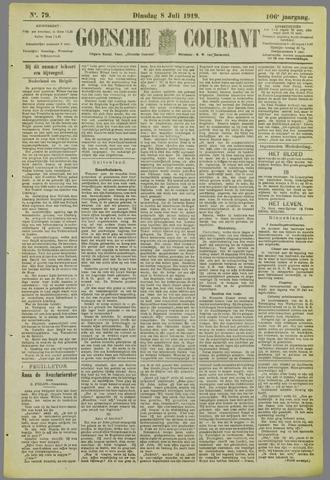 Goessche Courant 1919-07-08