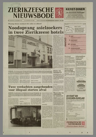 Zierikzeesche Nieuwsbode 1994-12-08