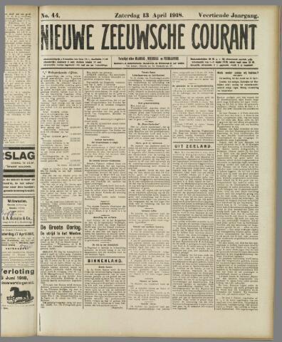 Nieuwe Zeeuwsche Courant 1918-04-13