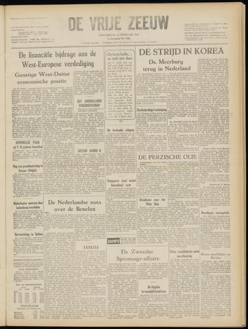 de Vrije Zeeuw 1952-02-21