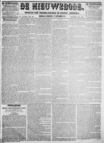 Sheboygan Nieuwsbode 1857-09-22