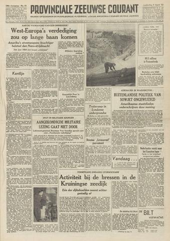 Provinciale Zeeuwse Courant 1953-04-09