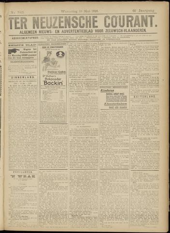 Ter Neuzensche Courant. Algemeen Nieuws- en Advertentieblad voor Zeeuwsch-Vlaanderen / Neuzensche Courant ... (idem) / (Algemeen) nieuws en advertentieblad voor Zeeuwsch-Vlaanderen 1926-05-19