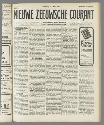 Nieuwe Zeeuwsche Courant 1912-07-20