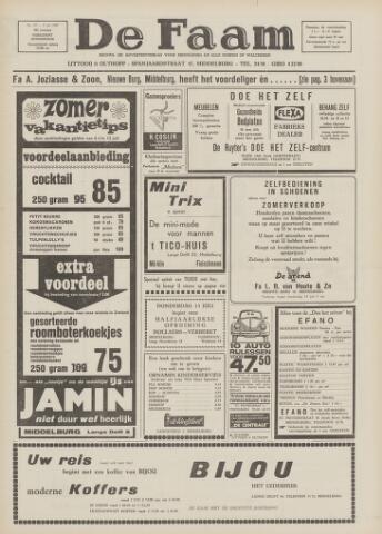 de Faam en de Faam/de Vlissinger 1967-07-06