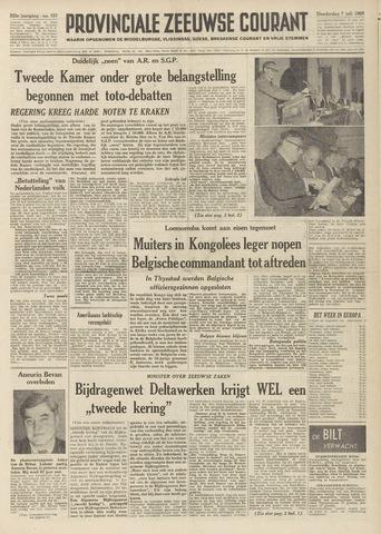 Provinciale Zeeuwse Courant 1960-07-07