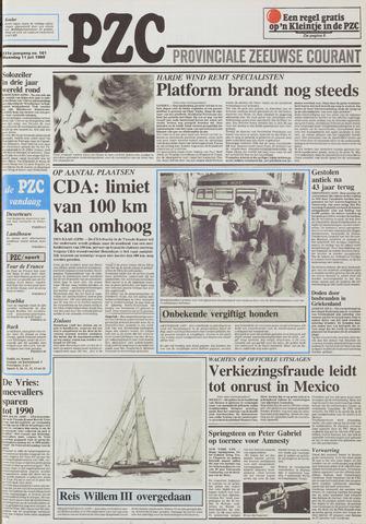 Provinciale Zeeuwse Courant 1988-07-11