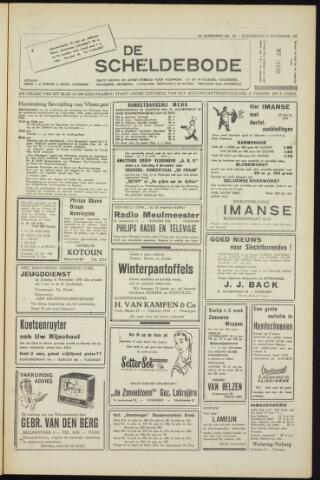Scheldebode 1955-11-03