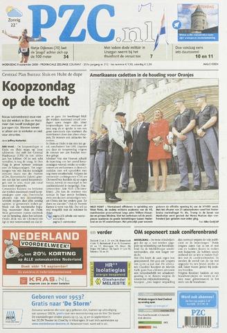 Provinciale Zeeuwse Courant 2009-09-09