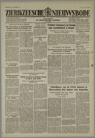 Zierikzeesche Nieuwsbode 1955-09-15