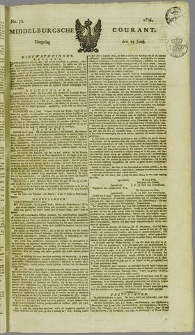 Middelburgsche Courant 1824-06-15