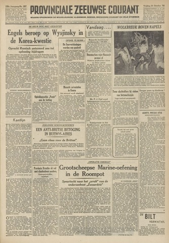 Provinciale Zeeuwse Courant 1952-10-31