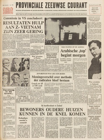 Provinciale Zeeuwse Courant 1967-08-28