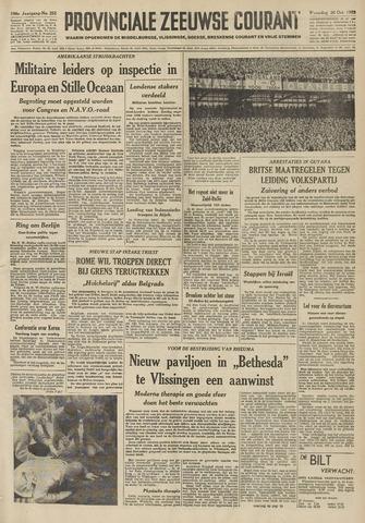 Provinciale Zeeuwse Courant 1953-10-26