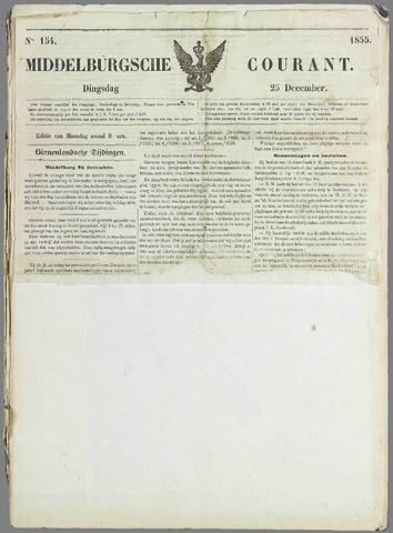 Middelburgsche Courant 1855-12-25