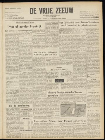 de Vrije Zeeuw 1954-09-11