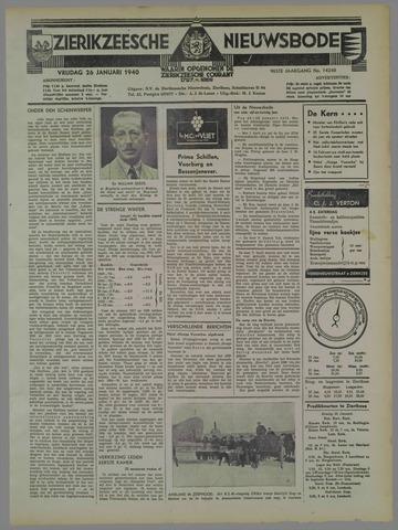 Zierikzeesche Nieuwsbode 1940-01-26