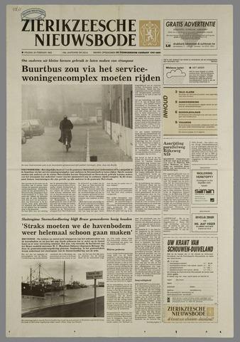 Zierikzeesche Nieuwsbode 1993-02-26