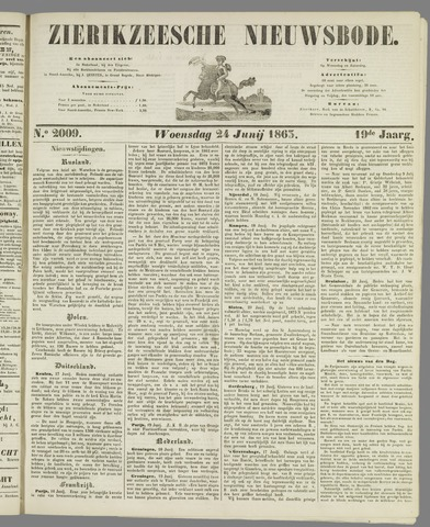 Zierikzeesche Nieuwsbode 1863-06-24
