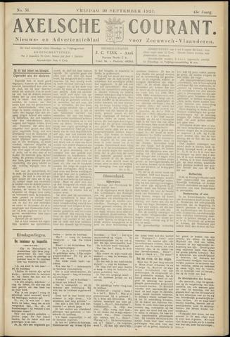 Axelsche Courant 1927-09-30