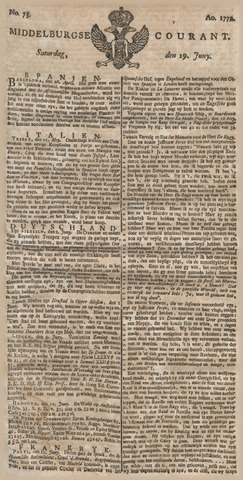 Middelburgsche Courant 1779-06-19