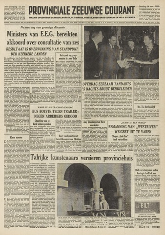 Provinciale Zeeuwse Courant 1959-11-24