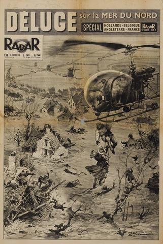 Watersnood documentatie 1953 - kranten 1953-02-15