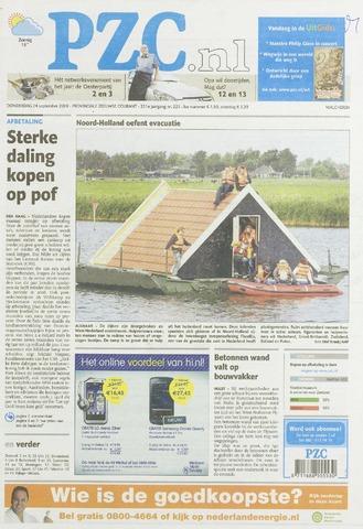 Provinciale Zeeuwse Courant 2009-09-24