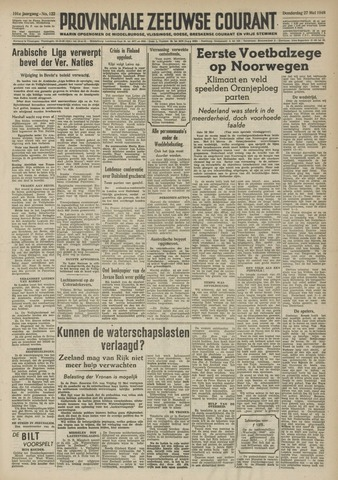 Provinciale Zeeuwse Courant 1948-05-27