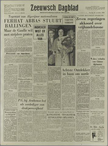 Zeeuwsch Dagblad 1959-11-21