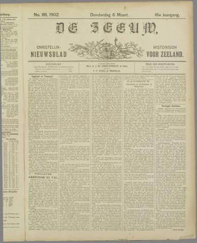 De Zeeuw. Christelijk-historisch nieuwsblad voor Zeeland 1902-03-06