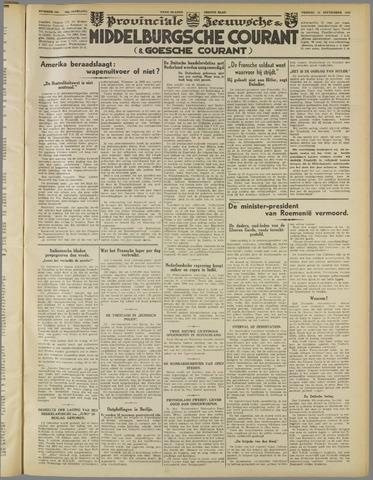 Middelburgsche Courant 1939-09-22