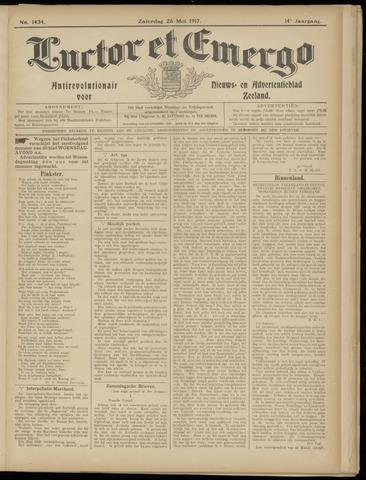 Luctor et Emergo. Antirevolutionair nieuws- en advertentieblad voor Zeeland / Zeeuwsch-Vlaanderen. Orgaan ter verspreiding van de christelijke beginselen in Zeeuwsch-Vlaanderen 1917-05-26