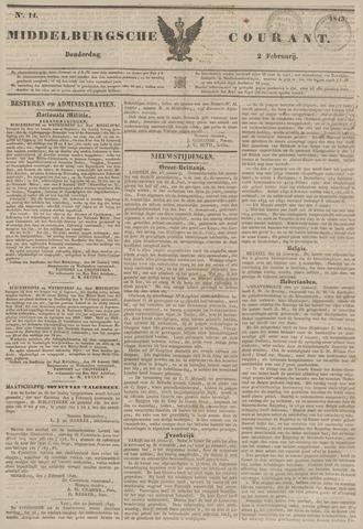 Middelburgsche Courant 1843-02-02